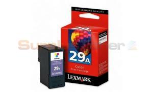 LEXMARK NO. 29A Z1300 PRINT CARTRIDGE TRI-COLOR (18C1529E)