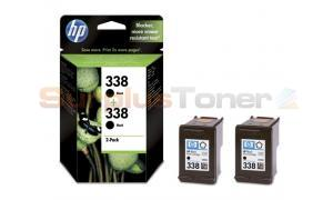 HP 338 INK CARTRIDGE BLACK 2-PACK (CB331EE)