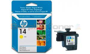 HP NO 14 PRINTHEAD YELLOW (C4923AE)