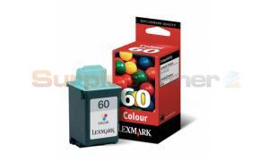 LEXMARK NO. 60 INK CARTRIDGE COLOR (17G0060E)