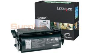 LEXMARK T520 TONER CARTRIDGE BLACK RP (12A6830)