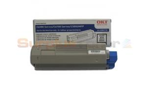 OKIDATA C6150 TONER CARTRIDGE BLACK (43865720)