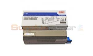 OKIDATA C710 TONER CARTRIDGE BLACK (43866104)