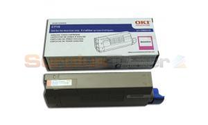 OKIDATA C710 TONER CARTRIDGE MAGENTA (43866102)