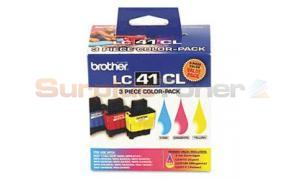 BROTHER DCP 110C MFC 5840CN COLOR PACK INK (LC-41CL3PKS)