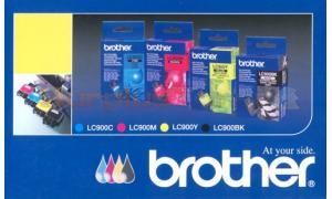 BROTHER DCP-110C MULTI PACK INK CARTRIDGES C, M, Y, BK (LC900U6)