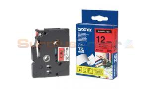 BROTHER P-TOUCH TAPE BLACK/RED (TZ-431)