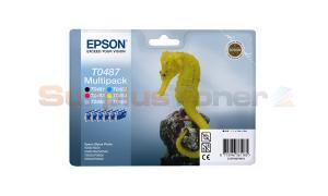 EPSON STYLUS PHOTO R200 INK CARTRIDGE MULTIPACK CMYK LC LM (C13T04874010)