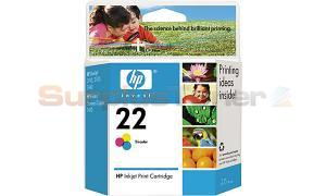 HP 22 INKJET PRINT CARTRIDGE TRI-COLOR (C9352AC)