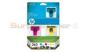 HP NO 363 INK CARTRIDGES COLOR 3-PACK (CB333EE)