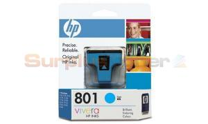 HP 801 CYAN INK CARTRIDGE (C8771ZZ)