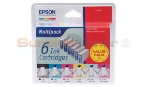 EPSON RX700 INK MULTIPACK CMYK LC LM (T559740)