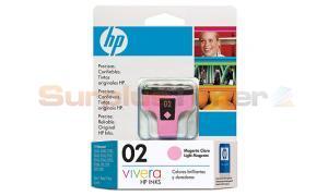 HP 02 INK CARTRIDGE LIGHT MAGENTA (C8775WL)