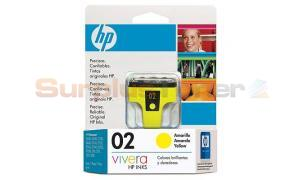 HP 02 INK CARTRIDGE YELLOW (C8773WL)