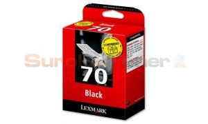 LEXMARK NO. 70 INK CARTRIDGES BLACK TWIN-PACK (80D2957)