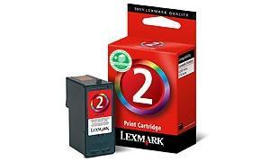 LEXMARK NO 2 PRINT CARTRIDGE TRI-COLOR (18CX190)