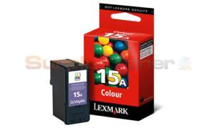 LEXMARK NO 15A PRINT CARTRIDGE TRI-COLOR (18C2100E)