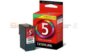 LEXMARK NO 5 PRINT CARTRIDGE TRI-COLOR RP (18C1960)