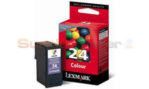 LEXMARK 24 INK CARTRIDGE COLOR RP (18C1524E)