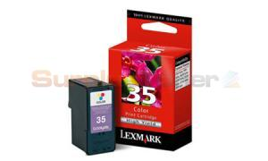 LEXMARK 35 INK CARTRIDGE COLOR HY (18C0035A)