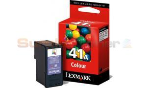 LEXMARK NO 41A PRINT CARTRIDGE TRI-COLOR (18Y0341E)