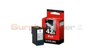 LEXMARK NO 42A PRINT CARTRIDGE BLACK (18Y0342E)
