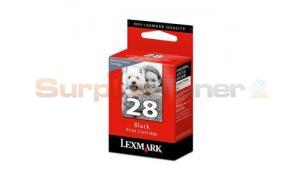 LEXMARK 28 INK CARTRIDGE BLACK RP (18C1428A)
