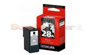 LEXMARK 28A PRINT CARTRIDGE BLACK (18C1528A)