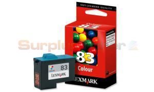 LEXMARK NO 83 PRINT CARTRIDGE TRI-COLOR (18LX042)