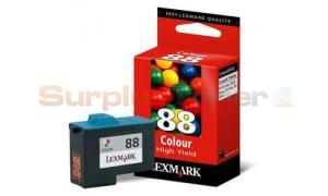 LEXMARK Z55 NO 88 PRINT CARTRIDGE TRI-COLOR HY (18L0000)