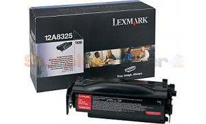 LEXMARK T430 TONER CARTRIDGE BLACK 12K (12A8325)