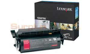 LEXMARK T622 TONER CARTRIDGE BLACK (12A6760)