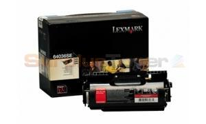 LEXMARK T640 T642 T644 TONER CARTRIDGE BLACK (64036SE)