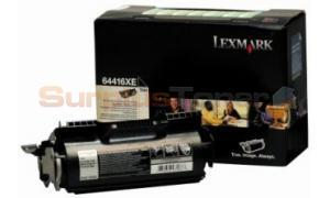 LEXMARK T644 TONER CARTRIDGE BLACK RP 32K (X64416XE)