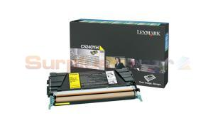 LEXMARK C524 C532 TONER CARTRIDGE YELLOW RP 5K (C5240YH)