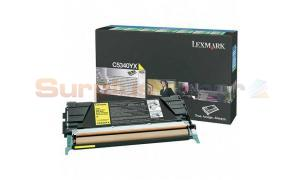 LEXMARK C534 TONER CARTRIDGE YELLOW RP 7K (C5340YX)
