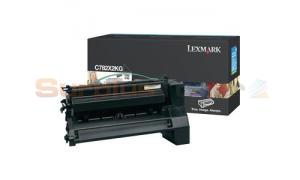 LEXMARK C782 X782 TONER CARTRIDGE BLACK 15K (C782X2KG)