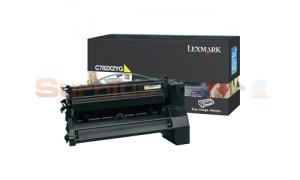 LEXMARK C782 X782 TONER CARTRIDGE YELLOW 15K (C782X2YG)