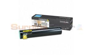 LEXMARK C935 TONER CARTRIDGE YELLOW HY (C930H2YG)