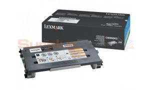 LEXMARK X500 X502 TONER CARTRIDGE BLACK 2.5K (C500S2KG)