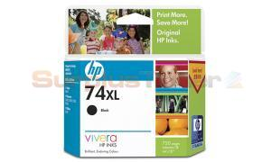 HP NO 74XL INKJET CARTRIDGE BLACK 750 PAGES (CB336WA)