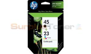 HP NO 45 23D INK BLACK/COLOR COMBO PACK (C8790BN#140)