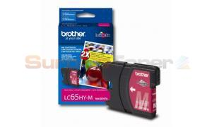BROTHER MFC-5890CN INK CARTRIDGE MAGENTA HY (LC-65HYM)