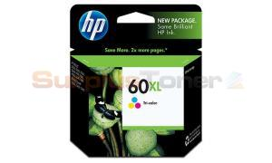 HP DESKJET D2530 NO 60XL INK TRICOLOR (CC644WN)