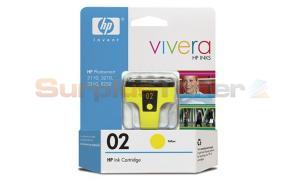 HP NO 02 INK YELLOW (C8773WN)