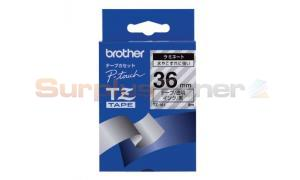 BROTHER P-TOUCH TAPE BLACK/CLEAR (1.5/2 X 50) (TZ-161)