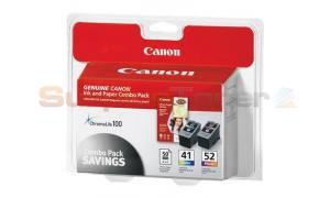 CANON PIXMA IP1600 INK AND PAPER COMBO PK (0617B016)