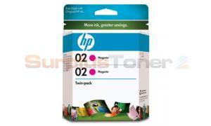 HP NO 02 INK MAGENTA 740 PAGES (CD997FN)