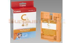 CANON SELPHY ES1 E-C25L PHOTO PACK COLOR 25 PHOTOS (1250B001)