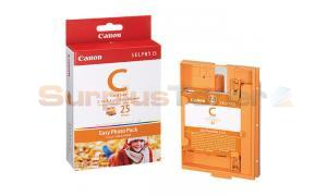 CANON SELPHY ES1 E-C25 PHOTO PACK COLOR 25 PHOTOS (1249B001)